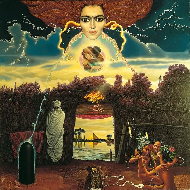 Chez Sphinx - Mati Klarwein - 1973
