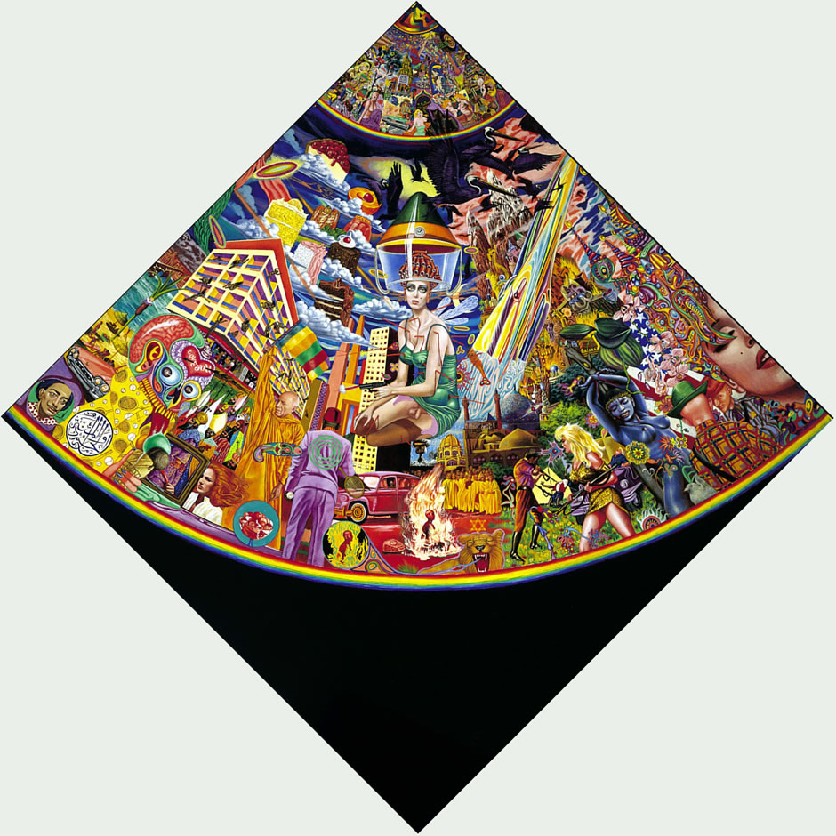 Mati Klarwein Gallery - Grain of Sand - Quadrant C