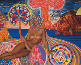 Online Art Gallery of Surrealist and Visionary Art by Mati Klarwein