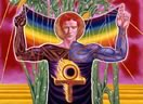 Adam by Mati Klarwein (1964); visionary and psychedelic art