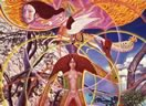 Visionary paintings by Mati Klarwein: Astral Body Awake (1969)