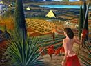 Visit by Mati Klarwein - visionary art
